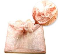 レースペーパー麻の花「ピンク」